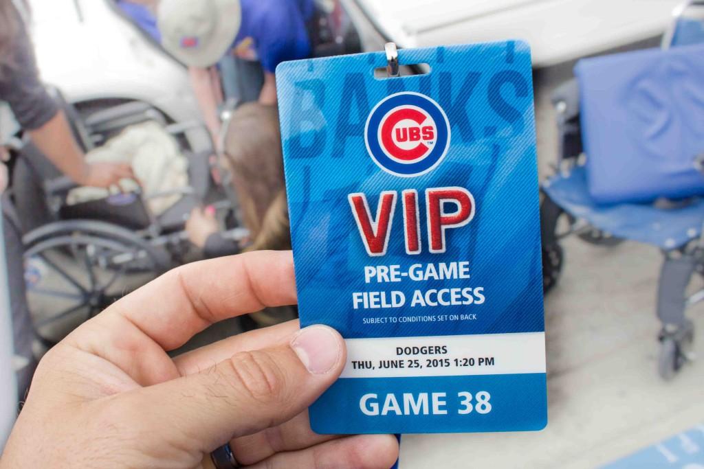 Cubs VIP Pass