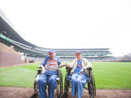 Louise's Trip to Watch the Cubs Play at Wrigley