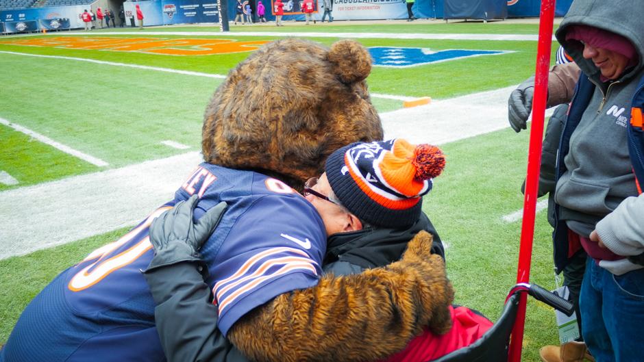 Jesse and Staley Da Bear