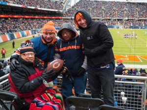 Jesse Saw the Chicago Bears at Soldier Field
