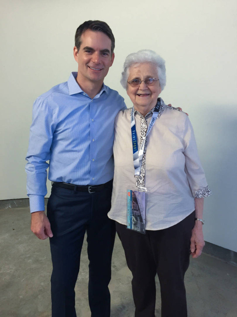 Irene, a low-income older adult, got her dream come true when she met Jeff Gordon
