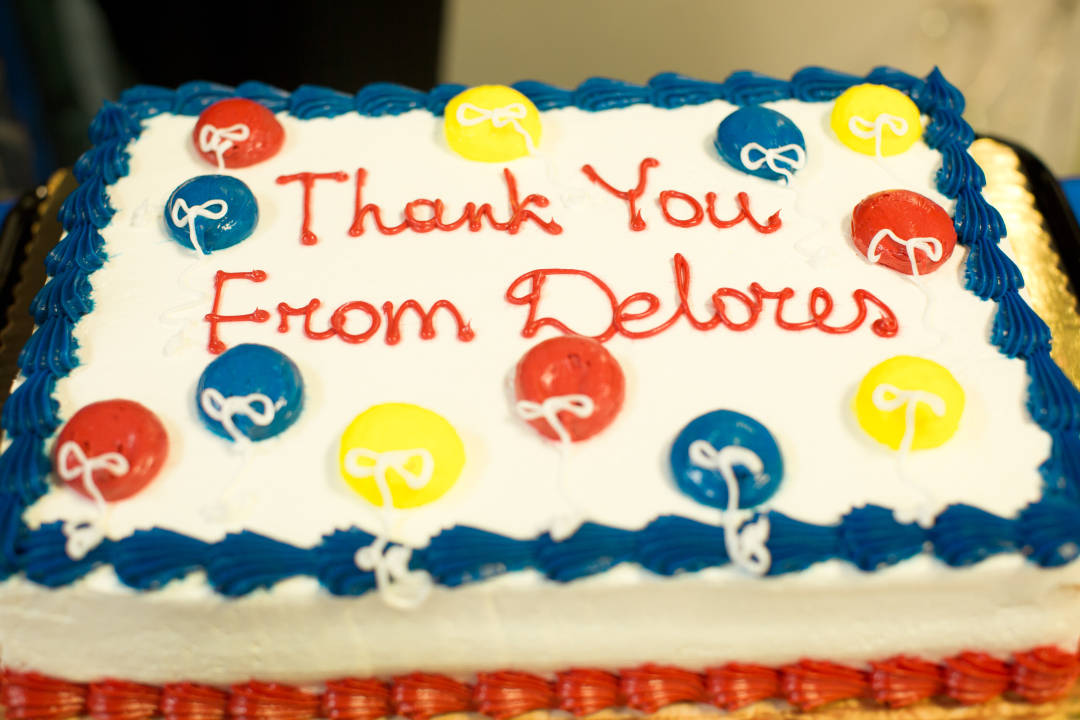 Thank You From Delores.