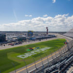Daytona International Speedway is a very, very big place!